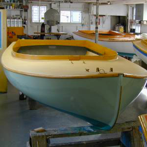 Barnstable Cat Boat 145 from Howard Boats