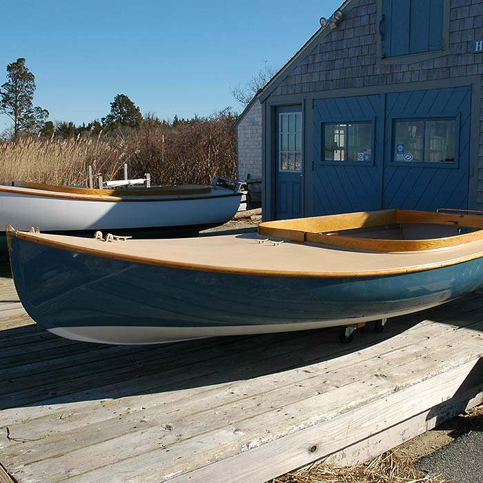 Certified Pre-Owned Barnstable Cat Boat #116 at Howard Boats